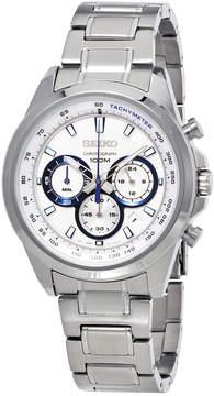 Seiko Neo Sports Chronograph White Dial Men's Watch SSB239