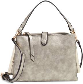 Sondra Roberts Faux Leather Crossbody Handbag