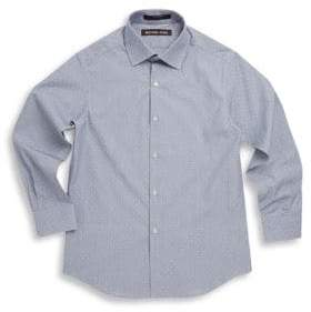 Michael Kors Boy's Neat Cotton Collared Shirt
