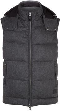 Dunhill Hooded Flannel Gilet