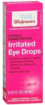 Walgreens Irritated Eye Drops