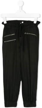 Karl Lagerfeld zip-embellished trousers