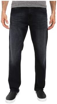 Mavi Jeans Myles Casual Straight in Ink Brushed Williamsburg Men's Jeans