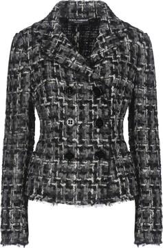 Grey Tweed Blazers