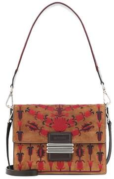 Etro Rainbow suede shoulder bag