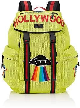 Gucci Men's Appliquéd Backpack