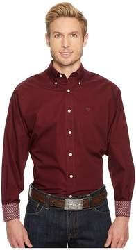 Ariat Solid Shirt Men's Clothing