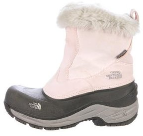 The North Face Fur-Trimmed Ankle Boots