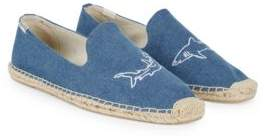 Soludos Shark Denim Smoking Espadrilles