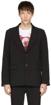 Comme des Garcons Black Tropical Garment Blazer