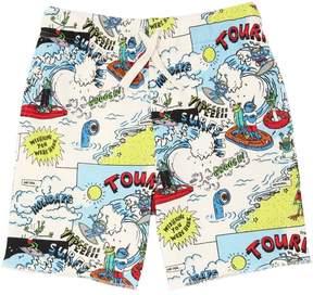 Stella McCartney Tourist Organic Cotton Sweat Shorts
