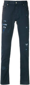 Just Cavalli distressed effect jeans