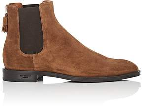 Givenchy Men's Back-Zip Suede Chelsea Boots