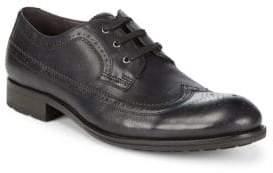 John Varvatos Star Brogue Wingtip Leather Oxfords