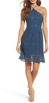 Chelsea28 Women's Lace Fit & Flare Dress