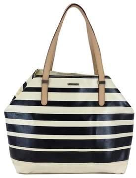 Rebecca Minkoff Black & White Striped Tote Bag - BLACK - STYLE