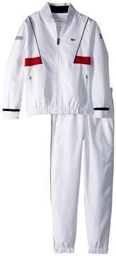 Lacoste Kids Taffeta Novak Djokovic Tracksuit Boy's Suits Sets