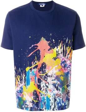 Junya Watanabe paint splash print T-shirt