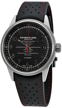 Raymond Weil Freelancer Black Dial Automatic Men's Sports Watch