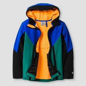 Champion Boys' Soft Shell Fleece Jacket Blue