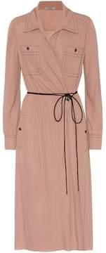 Bottega Veneta Long-sleeved wrap dress