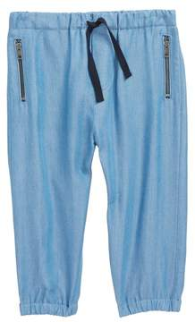 Burberry Mini Phillie Chambray Pants
