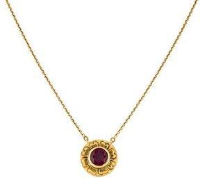 Amrapali 18K Ruby Pendant Necklace