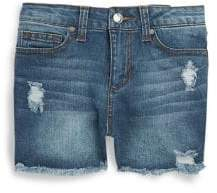 Joe's Jeans High-Rise Distressed Denim Shorts