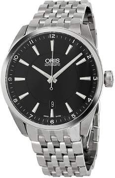 Oris Artix Date Automatic Black Dial Steel Men's Watch