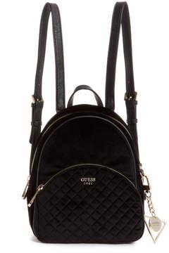 GUESS Bradyn Velvet Backpack
