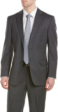 Kroon Bishop Wool Suit With Flat Pant