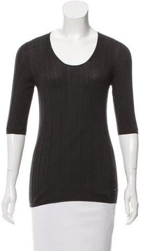 Akris Ribbed Cashmere Sweater w/ Tags