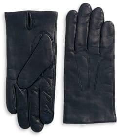 Black & Brown Black Brown Leather Gloves