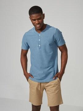 Frank and Oak Twill Cotton-Stretch Baseball T-Shirt