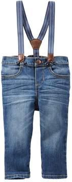 Osh Kosh Oshkosh Bgosh Baby Boy Suspender Jeans