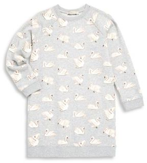 Stella McCartney Toddler's, Little Girl's & Girl's Swan Print Cotton Sweatshirt