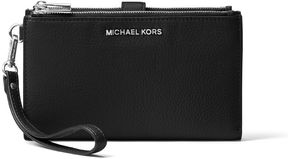 MICHAEL Michael Kors Hammered Leather Wallet - BLACK - STYLE