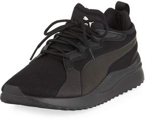 Puma Men's Pacer Next Cage Knit Sneakers, Black