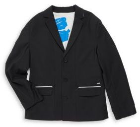 Karl Lagerfeld Boy's Basic Notch Jacket