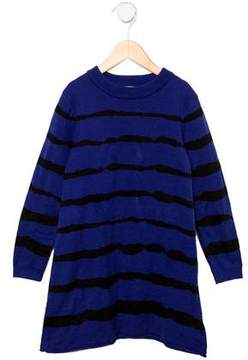 Junior Gaultier Girls' Striped Knit Dress