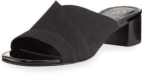 Adrianna Papell Elastic Stretch Slide Sandal