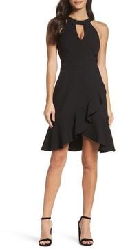 Adelyn Rae Women's Kasi Ruffle Fit & Flare Dress