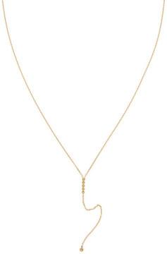 Bony Levy 14K Yellow Gold Beaded Bar Pendant Necklace