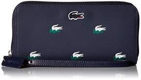 Lacoste Large Wristlet Zip Wallet
