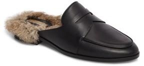 Louise et Cie Women's Dugan Ii Genuine Rabbit Fur Mule