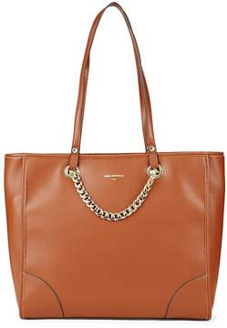 Karl Lagerfeld Women's Plyt Curb Chain Tote