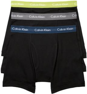 Calvin Klein Underwear Men's Cotton Boxer Briefs (3 Pack)