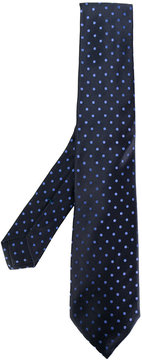 Kiton spotted tie