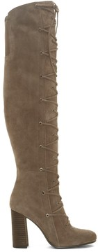 Sole Society Thanta Lace Up Tall Boot