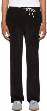 Maison Margiela Black Corduroy Suit Trousers